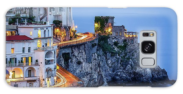 Galaxy Case featuring the photograph Amalfi Coast Italy Nightlife by Nathan Bush