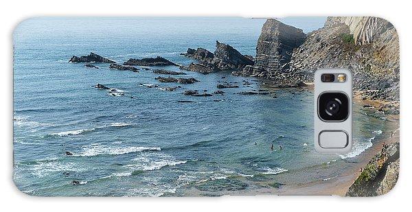 Amalia Beach From Cliffs Galaxy Case