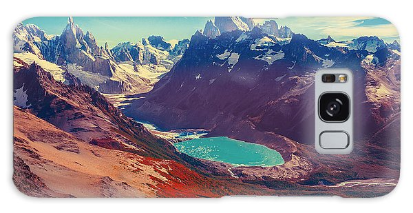 Moraine Lake Galaxy Case - Amazing Landscape With Fitz Roy And by Serjio74