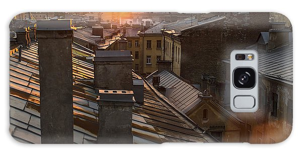 Historical Galaxy Case - Amazing Sunset On The Roofs Of by De Visu