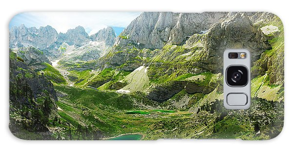 Scenery Galaxy Case - Amazing View Of Mountain Lakes In by Lenar Musin