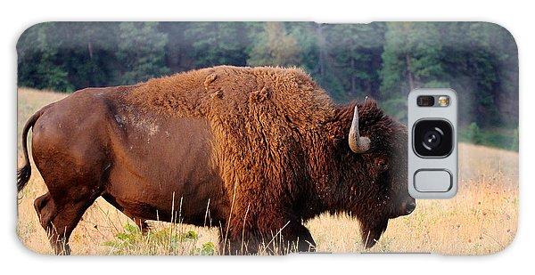 Landmark Galaxy Case - American Bison Buffalo Side Profile by Steve Boice