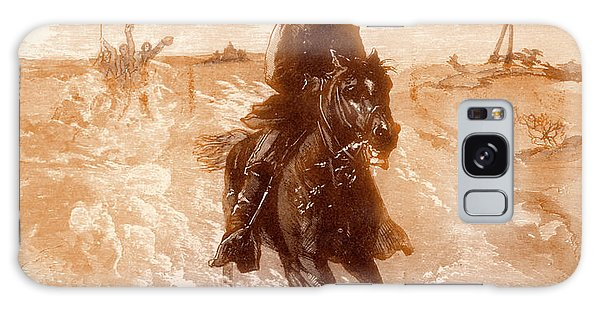 Tint Galaxy Case - American Civil War Union General Philip Sheridan Rides To The Front by Solomon Eytinge