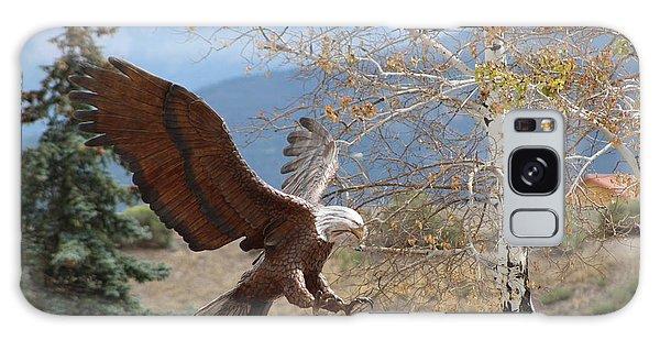 American Eagle In Autumn Galaxy Case