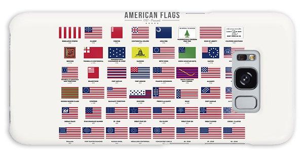 Us Civil War Galaxy Case - American Flags by Zapista Zapista
