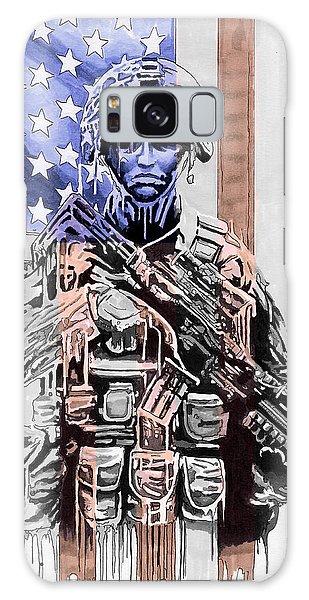 American Soldier Galaxy Case