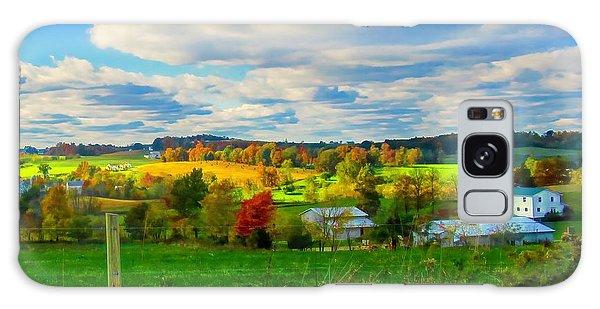 Amish Farm Beauty Galaxy Case