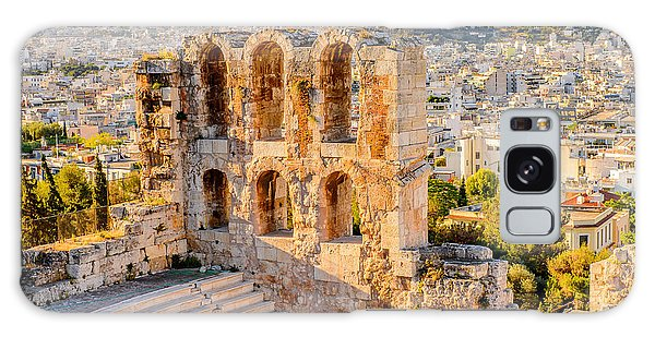 Attraction Galaxy Case - Amphitheater Of The Acropolis Of by Anton ivanov