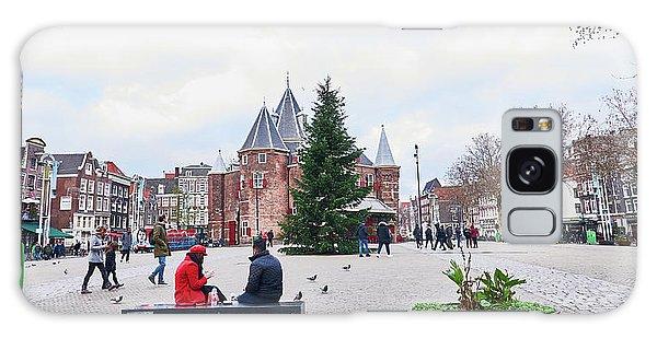 Amsterdam Christmas Galaxy Case