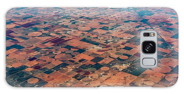 Farmland Galaxy Case - An Aerial View Of Massive Farmland With by Richard A Mcmillin