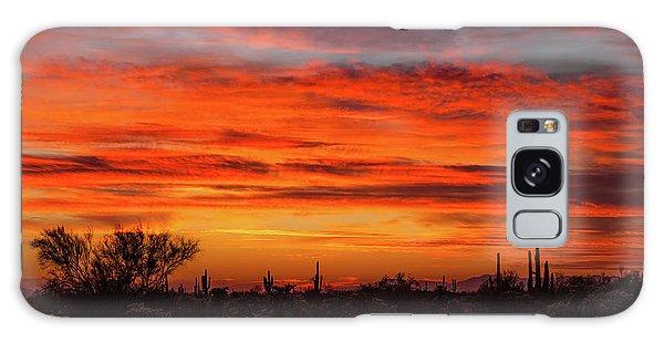 Galaxy Case featuring the photograph An Arizona Sky by Rick Furmanek