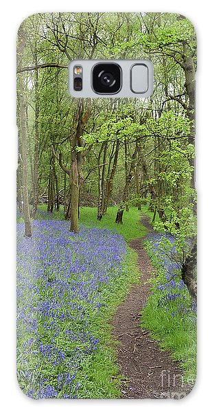 Bluebell Galaxy Case - An English Bluebell Wood by John Edwards