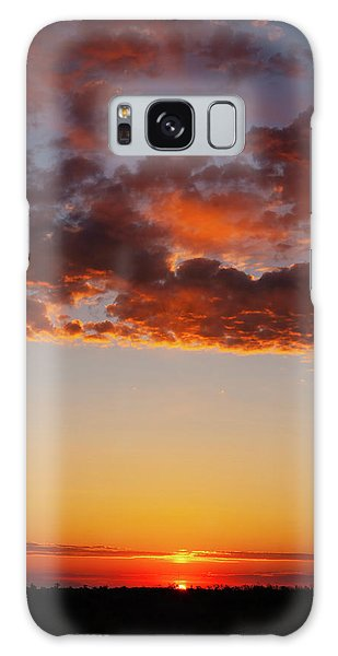 Galaxy Case featuring the photograph An Oklahoma Sunsrise by Rick Furmanek