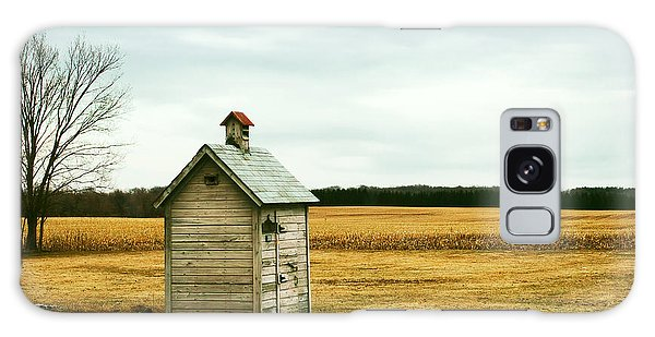 Shed Galaxy Case - An Old Outhouse In The Middle Of An by Todd Klassy