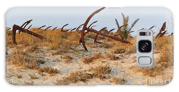 Anchors In Barril Beach Galaxy Case