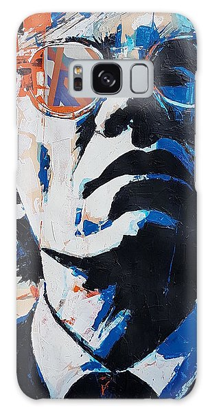Portraiture Galaxy Case - Andy Warhol by Paul Lovering