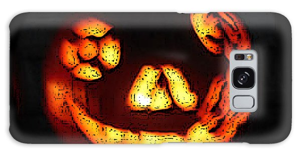 Andy's Jack O Lantern Galaxy Case