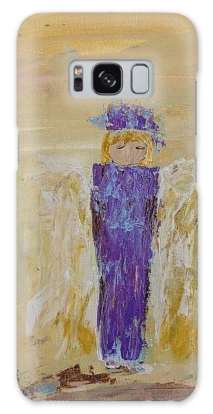 Angel Girl With A Unicorn Galaxy Case