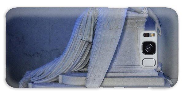 Angel Weeping Galaxy Case