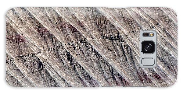 Galaxy Case featuring the photograph Angled Desert Strata by Britt Runyon