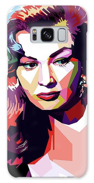 Anita Ekberg Pop Art Galaxy Case