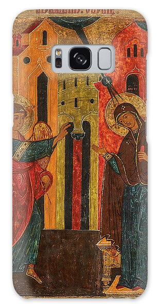 Annunciation Galaxy Case - Annunciation, 17th Century by Russian Art