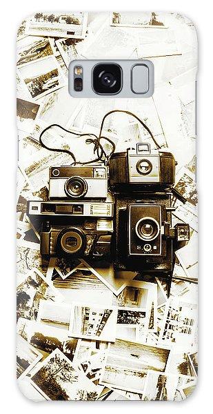 Camera Galaxy Case - Antique Albums by Jorgo Photography - Wall Art Gallery
