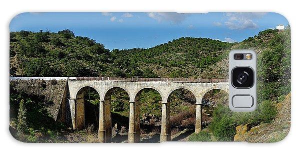 Antique Mertola's Bridge In Alentejo Galaxy Case