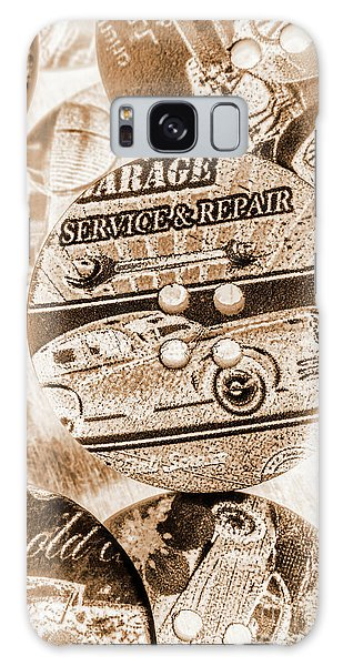 66 Galaxy Case - Antique Service Industry by Jorgo Photography - Wall Art Gallery