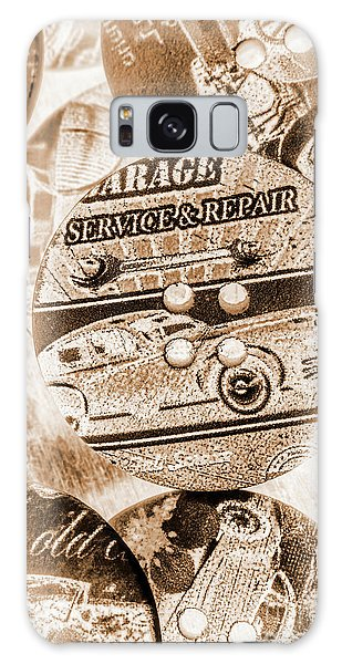 Old Road Galaxy Case - Antique Service Industry by Jorgo Photography - Wall Art Gallery
