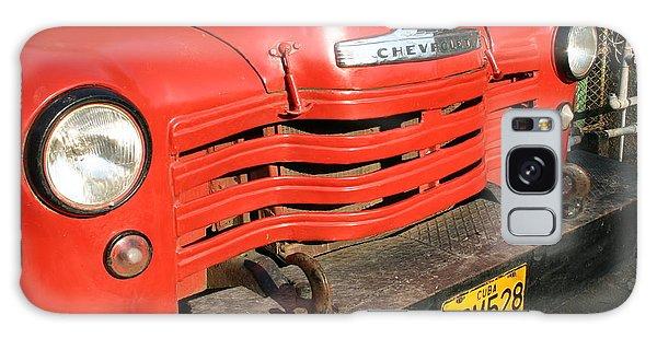 Antique Truck Red Cuba 11300502 Galaxy Case