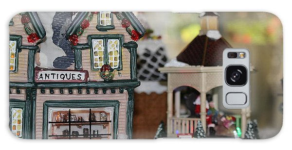 Antiques In Christmas Town Galaxy Case