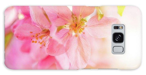 Apple Blossoms Bright Glow Galaxy Case