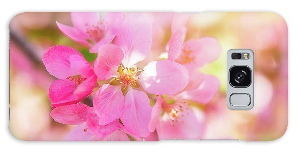 Apple Blossoms Cheerful Glow Galaxy Case