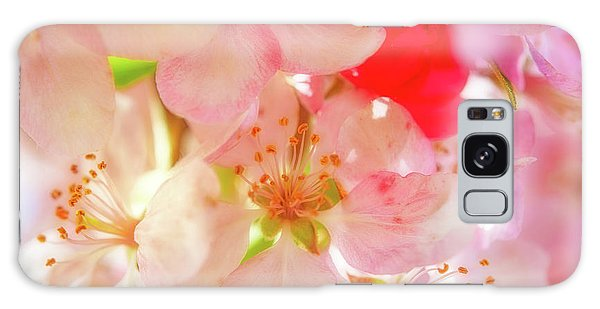 Apple Blossoms Textures Galaxy Case