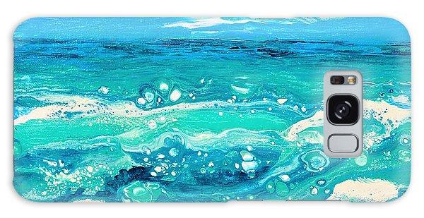 Aqua Seafoam Galaxy Case