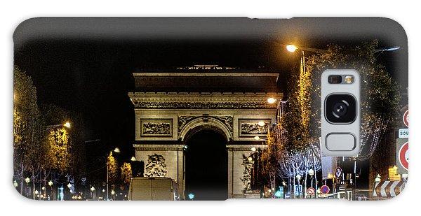 Galaxy Case featuring the photograph Arc De Triomphe by Randy Scherkenbach