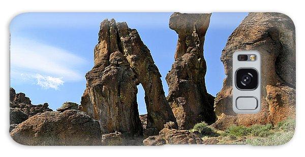 Arches Hoodoos Castles Galaxy Case