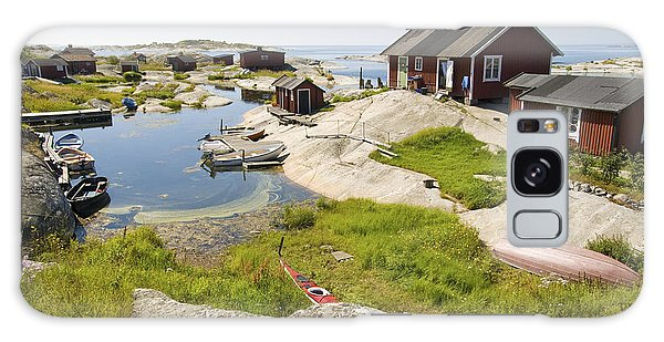 Cottage Galaxy Case - Archipelago Of Stockholm by Anse
