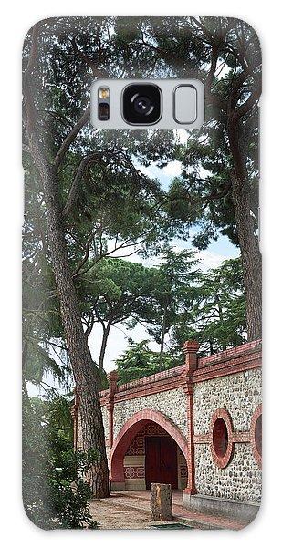 Architecture At The Gardens Of Cecilio Rodriguez In Retiro Park - Madrid, Spain Galaxy Case