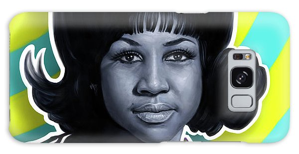 Tribute Galaxy Case - Aretha - Queen Of Soul by Andre Koekemoer