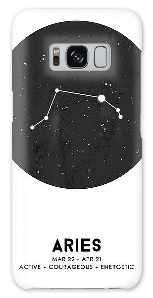 The Sky Galaxy Case - Aries Print - Zodiac Signs Print - Zodiac Posters - Aries Poster - Night Sky - Stars - Aries Traits by Studio Grafiikka