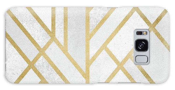 Art Deco Galaxy S8 Case - Art Deco Gold by Elisabeth Fredriksson