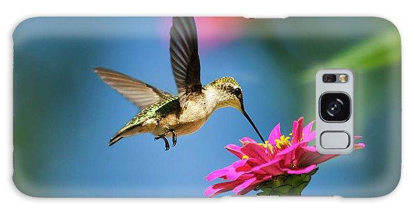 Art Of Hummingbird Flight Galaxy Case