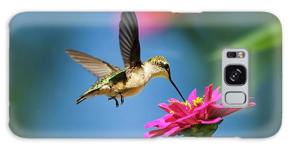 Art Of Hummingbird Flight Galaxy Case