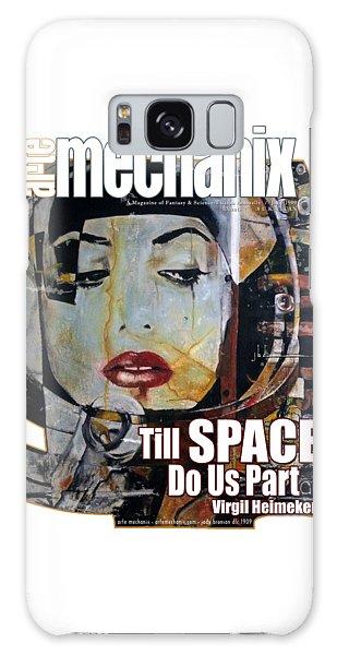 arteMECHANIX 1909 TILL SPACE GRUNGE Galaxy Case