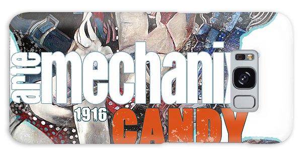 arteMECHANIX 1916 CANDY GOES TO WAR  GRUNGE Galaxy Case