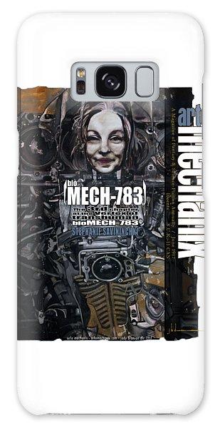 arteMECHANIX 1917 BioMECH-783 GRUNGE Galaxy Case