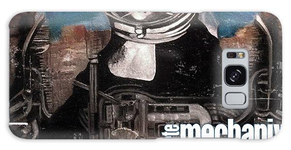 arteMECHANIX 1918 DAVINCI DOOMSDAY DEVICE  GRUNGE Galaxy Case