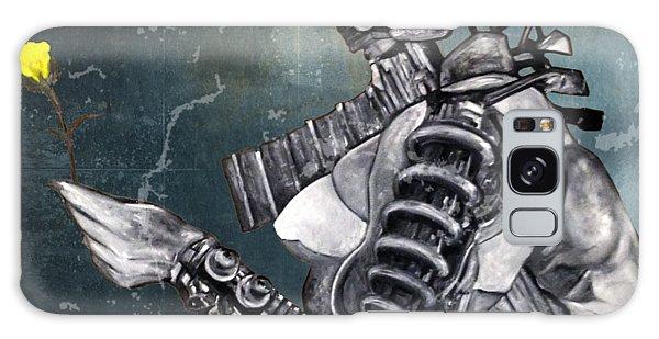 arteMECHANIX 1930 The FROZEN YARD GRUNGE Galaxy Case